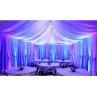 Quality Facotry event backdrop poles wedding decorate Pipe And Drape Wedding Backdrop curtains for sale