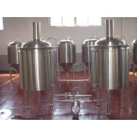 China Large Beer Brewing Equipment Stainless Steel Keg Barrel 5 Bbl Brewing System on sale
