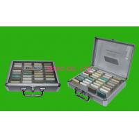 Quality MS-Stone-08 Aluminum Display Box / Marble Carry Cases Size L300 X W330 X H120mm for sale