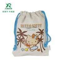 Factory wholesale product cheap price cotton small drawstring bags High Quality Customized Cotton Muslin Drawstring Bag