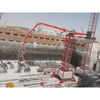 Quality Electrical Walking Concrete Placing Boom HG34 Working Temperature ﹣20~48 Degree for sale