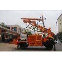 Quality Three Sections Boom Robotic Shotcrete Machine For Railway Tunnel for sale