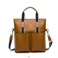 Quality Wholesale 2014 New designer fashionable top layer cowhide business men's/male's  bags for sale