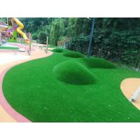 Anti Shock Rubber Sports Flooring , EPDM Swimming Pool Rubber Flooring