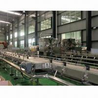 Buy cheap Empty Bottle Conveyor System, SUS304 Stainless Steel Water Collector, Centralized Lubrication System product