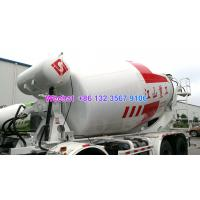 Quality LHD & RHD 6x4 Tri-Ring 375HP 8--12CBM concrete cement mixer truck for Tanzania for sale