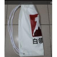 Quality Very easy to go out, travel, riding, playing, swimming double plastic drawstring backpack for sale