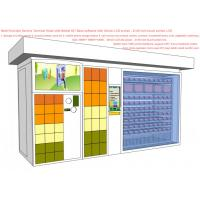 Buy cheap Parcel Send / Collect Smart Vending Machine , All In One Service Kiosk For Mobile Phone Charge product