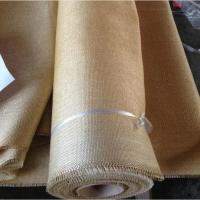 Quality Packing Materials Vermiculite Coated Fiberglass Cloth , 2025 High Temperature Fabric for sale