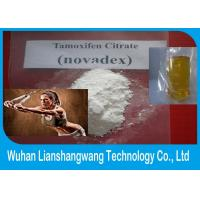 Quality CAS 54965-24-1 Injectable Anabolic Steroids Tamoxifen Citrate , Anti Estrogen Steroids Nolvadex Powder for sale