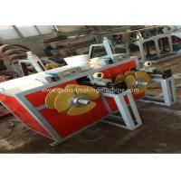 China Industrial PVC Coating Machine High Speed Automatic Hot Galvanized With Fan Cooling on sale