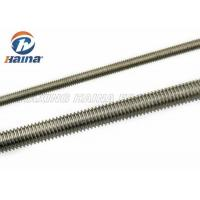 China M10 DIN 975 DIN976 Stainless Steel Fully Threaded Rod 1000mm Length on sale