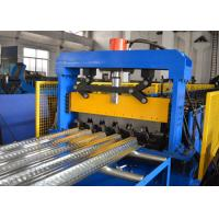 China Concrete Slab Plate Floor Deck Roll Forming Machine GI PPGI Multi Functional on sale