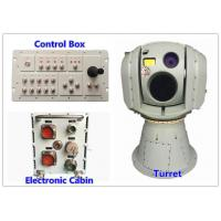 Quality LWIR Uncooled VOx FPA Electro Optical Infrared Targeting System With Thermal Camera and Day Light Camera for sale