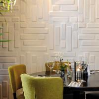 Quality Hotel Interior 3D Decorative Wall Panels for sale