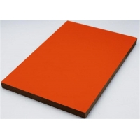 China Plain 0.35 mm  PVC Laminated MDF Board For Interior Furniture on sale
