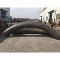Quality ASTM A234 WPB WPC Weldable Stainless Steel Pipe Fittings , Black Pipe Weld Fittings for sale