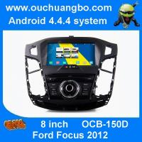 China Ouchuangbo audio DVD gps radio stereo navigation for ford focus radio stereo S160 android 4.4 OS on sale