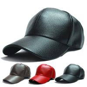 China Shining Suede Black Leather Unisex Baseball Caps 5 Panel Snapback Biker Trucker Outdoor Hats on sale