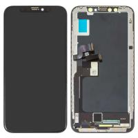 Quality iPhone X LCD Screen and Digitizer Assembly with Frame Replacement-Black for sale