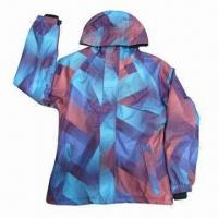 Quality Fashionable Women's Jacket, All Tape Seam, 120g Cotton Padding, Quick Dry, Water, Wind-resistant for sale