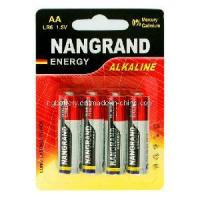 Quality Lr6 AA Alkaline 1.5V Battery for sale
