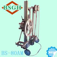 Quality Super popular model BS-80AM Flexible hydraulic multi wire saw for cutting concrete stone marble granite etc. for sale