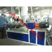 Buy cheap Single Wall Corrugated Plastic Pipe Extrusion Machine 380V 50HZ product