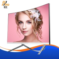 Quality 27 Inch 1920*1080 Curved  Screen   core i5 i7  ram 8g 16g ssd 240g  480g  with camera all in one computer for sale