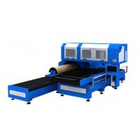 Buy cheap 1500w 3 Phase CO2 Metal Laser Cutting Machine With Flat / Rotary Die Cutting from wholesalers