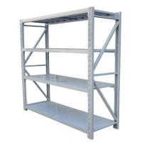 China Four Tiers Light Duty Metal Shelving Each Layer Loading Weight 150kg - 300kg on sale