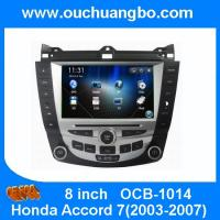 China Ouchuangbo Autoradio DVD Multimedia GPS Navigation Honda Accord 7 2003-2007 Kazakhstan map on sale