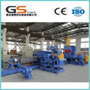 PP PE Filling Masterbatch Plastic Film Extruder Machine, HDPE PVC Extruder Machine