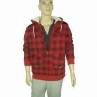 China Men's Casual Jacket, Used for Autumn and Winter Season on sale