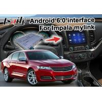 Quality Chevrolet Impala Android 6.0 video interface with rearview WiFi video mirror link for sale