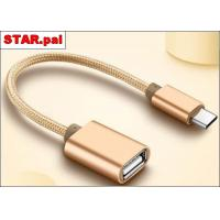 China TC-15 USB To Type C Micro USB Data Transfer Cable , OTG Mobile Phone USB Cable on sale