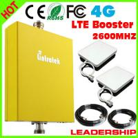 Buy cheap 1 SET LTE-26 4G 2600mhz booster 4G mobile phone signal repeater with panel from wholesalers