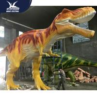 Quality Vivid Life Size Professional Realistic Dinosaur Models For Museum Exhibits for sale