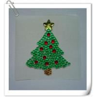 Quality Acrylic Rhinestone Sticker For Christmas Decoration for sale