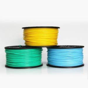 Quality 1.75mm / 3mm Transparent 3D Printer Filament PLA ABS For Extruding machine for sale
