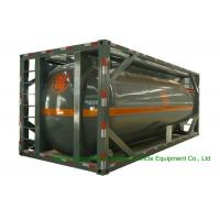 Buy cheap 316 Stainless Steel ISO Tank Container 20 FT For Hazardous Liquids Road from wholesalers