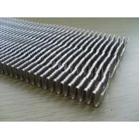Quality louvered Counterflow Heat Exchanger Fins of Extend cooling surface for sale