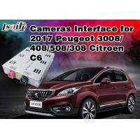 Quality Peugeot Reverse Camera Interface Integrate Video Source TV / Rear System ,  RoHS SGS , Active Parking Guideline for sale