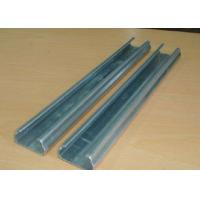 Quality Anti Rust Greenhouse Accessories Fixing Film Profile Lock Channel With Spring Wire for sale