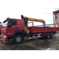 Quality 10 Wheels 10T Mobile Crane Truck , Crane Lift Truck High Capacity For Construction for sale