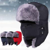 Quality Unisex Outdoor Waterproof Wool Winter Hat For Men Strings Buckle Closure Available for sale