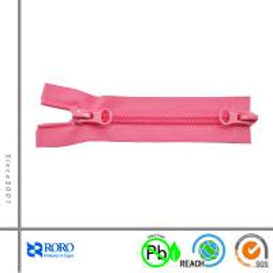 China RORO custom 5# nylon zipper two-way open-end on sale
