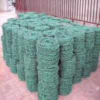China (BWG14x14 or BWG16x16 with1.6 mm 2.1mm 2.5mm wire diameter) electric / hot dipped barbed wire on sale