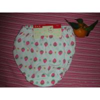 Buy cheap OEM Polyester / Cotton Breathable  Printed Strawberry Organic Girls Underwear product