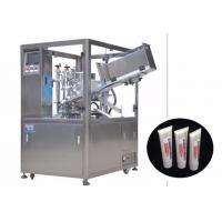 China 25-250 ml Cosmetic Filling Machine / Automatic Tube Filling And Sealing Machine on sale